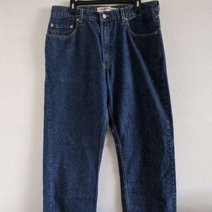 MENS LEVIS 569 LOOSE STRAIGHT JEANS BLUE